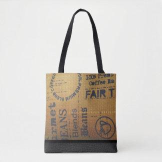 公正貿易のコーヒーバーラップ袋-トートバック トートバッグ