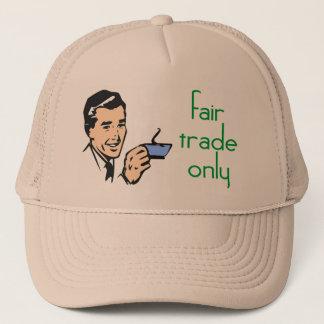 公正貿易の帽子だけ キャップ