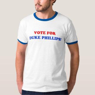 公爵のためのフィリップスRinger T-Shirt投票 Tシャツ