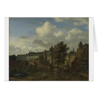 公爵の古代城の眺め カード