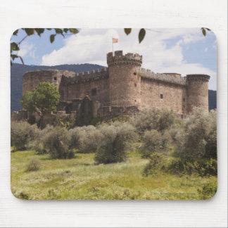 公爵のOf Alburquerque 15世紀な城 マウスパッド