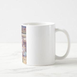 公爵夫人およびブタのベビーが付いている台所のアリス コーヒーマグカップ