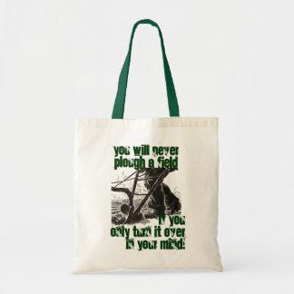 公理のトートのトートを耕すアイルランドの諺のすき トートバッグ