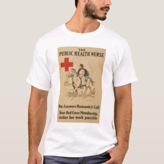 公衆衛生ナース-彼女は人間性の呼出しに答えます Tシャツ