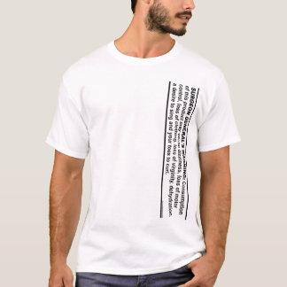 公衆衛生局長官の警告# 1 Tシャツ