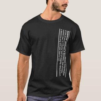 公衆衛生局長官の警告# 2 Tシャツ