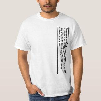 公衆衛生局長官の警告# 4 Tシャツ