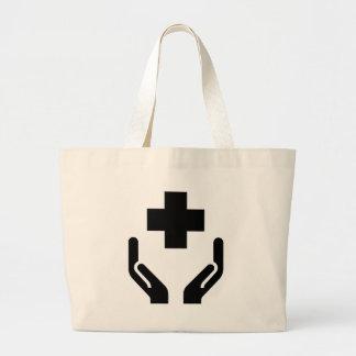 公衆衛生 ラージトートバッグ
