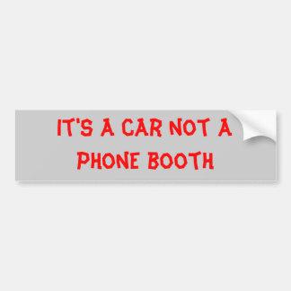 公衆電話ボックス バンパーステッカー
