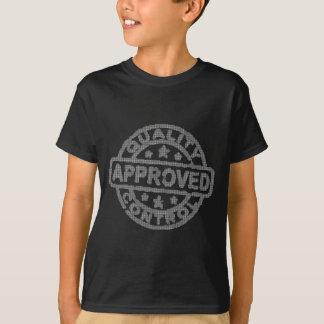 公認の品質管理Aprovado Controle de Qual Tシャツ