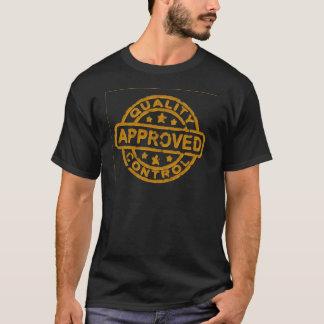 公認の品質管理Aprovado Tシャツ