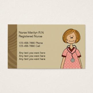 公認看護師の名刺 名刺