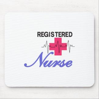 公認看護師 マウスパッド