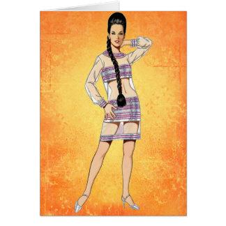 六十年代の透明な服 カード