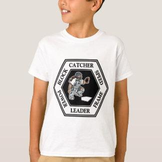 六角形のキャッチャー Tシャツ