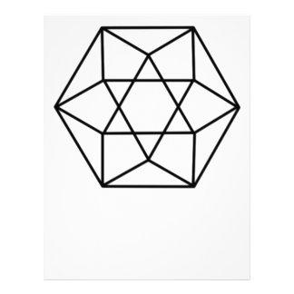 六角形の宝石4 レターヘッド