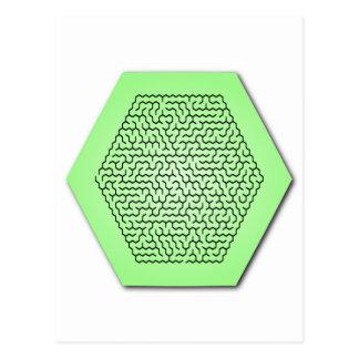 六角形の当惑 ポストカード