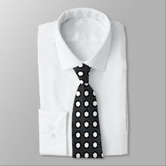 六角形の点 ネクタイ