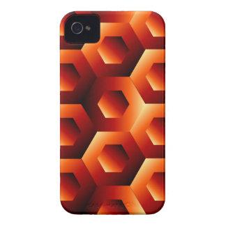 六角形の目の錯覚 Case-Mate iPhone 4 ケース