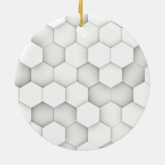 六角形 セラミックオーナメント