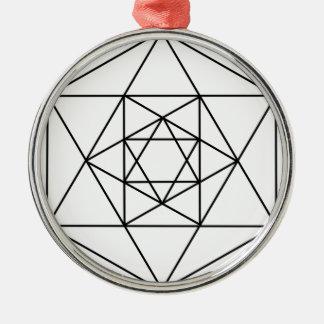 六角形Gem1 メタルオーナメント