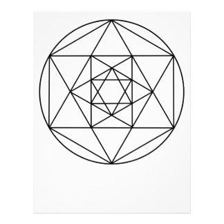 六角形Gem1 レターヘッド
