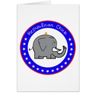 共和党のひよこ カード