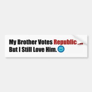 共和党の兄弟 バンパーステッカー