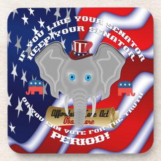 共和党の政治の記念品 コースター