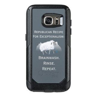 共和党の「例外論者」: Brainwash オッターボックスSamsung Galaxy S7ケース