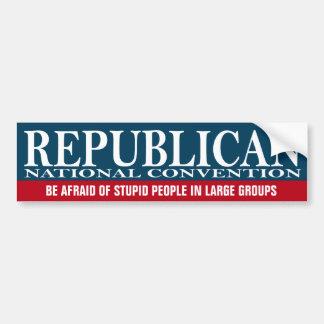 共和党全国大会-おもしろいな物 バンパーステッカー