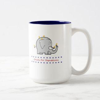 共和党員のためのひよこ ツートーンマグカップ