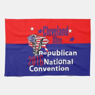 共和党員の2016年の大会 キッチンタオル