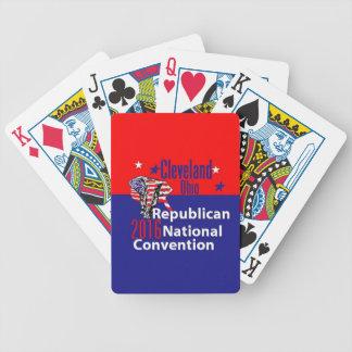 共和党員の2016年の大会 バイスクルトランプ