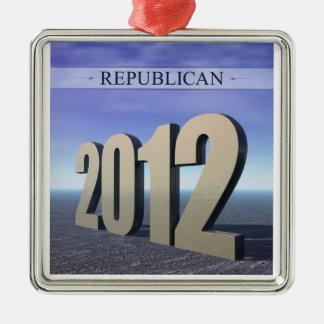 共和党員2012年 メタルオーナメント