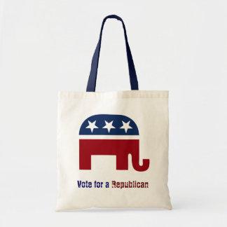 共和党象のロゴ トートバッグ
