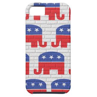 共和党象の壁 iPhone SE/5/5s ケース