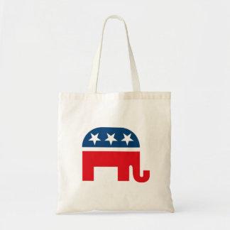 共和党象 トートバッグ