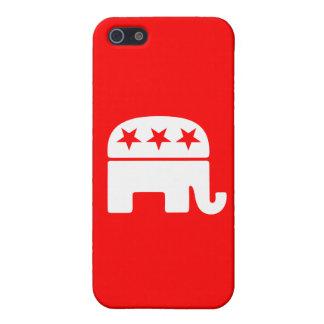 共和党象 iPhone 5 ケース