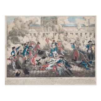 共和国の基礎、第10威厳があるな1792年 ポストカード