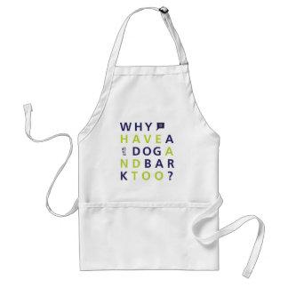 共有なぜ犬のエプロン スタンダードエプロン