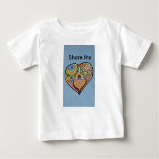 共有愛 ベビーTシャツ