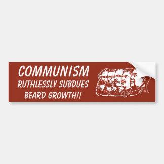 共産主義についての真実 バンパーステッカー