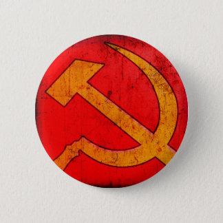 共産主義のソビエト社会主義共和国連邦のソ連国旗ボタン 5.7CM 丸型バッジ