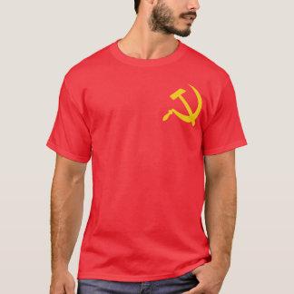 共産主義のハンマー及び鎌 Tシャツ