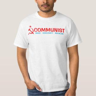 共産主義のワイシャツ Tシャツ