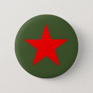 共産主義の星 5.7CM 丸型バッジ