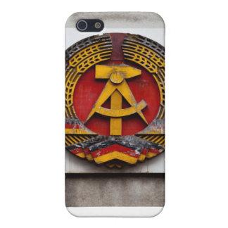 共産主義者のソ連国旗の記号 iPhone SE/5/5sケース