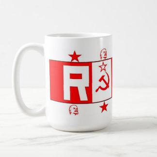 """、共産主義、レーニンのロシアのな""""赤い""""マグ社会主義 コーヒーマグカップ"""
