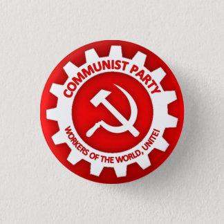 共産党ボタン 3.2CM 丸型バッジ